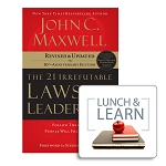 Lunch & Learn - The 21 Irrefutable Laws of Leadership [Digital-PDF]