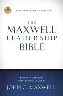 The Maxwell Leadership Bible Revised - Hardcover [NKJV]