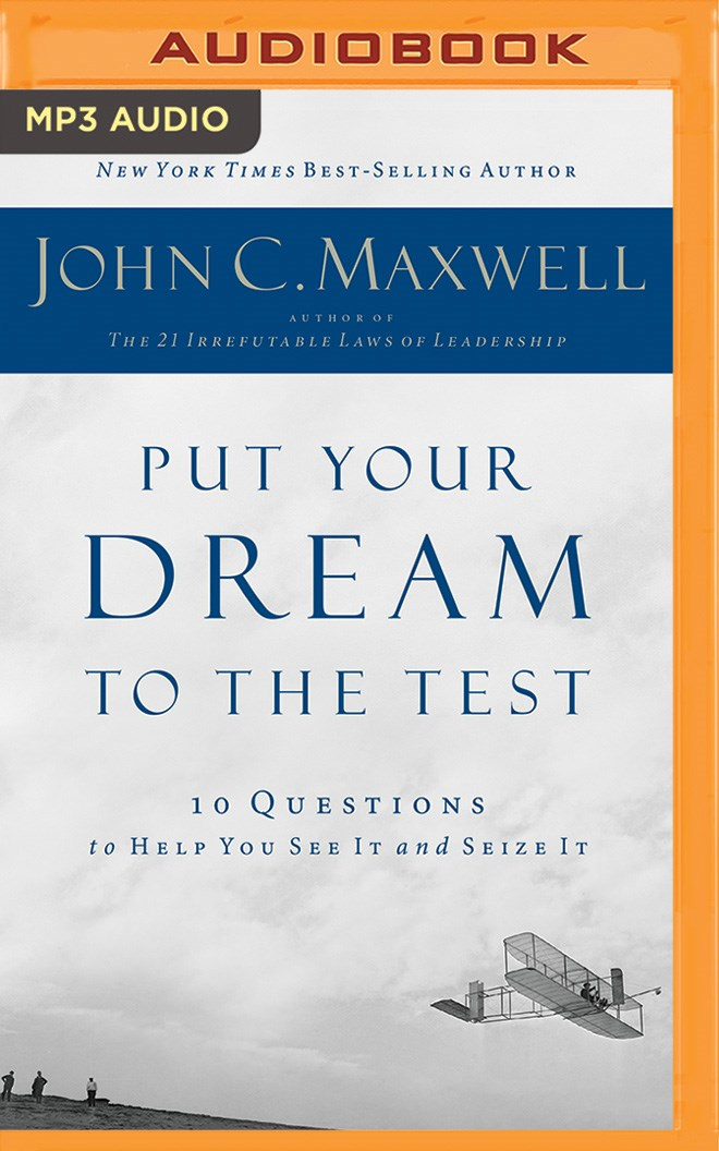 Put Your Dream to the Test [MP3-CD]