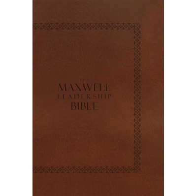 The Maxwell Leadership Bible Revised Briefcase Edition - Leatherlook [NKJV]
