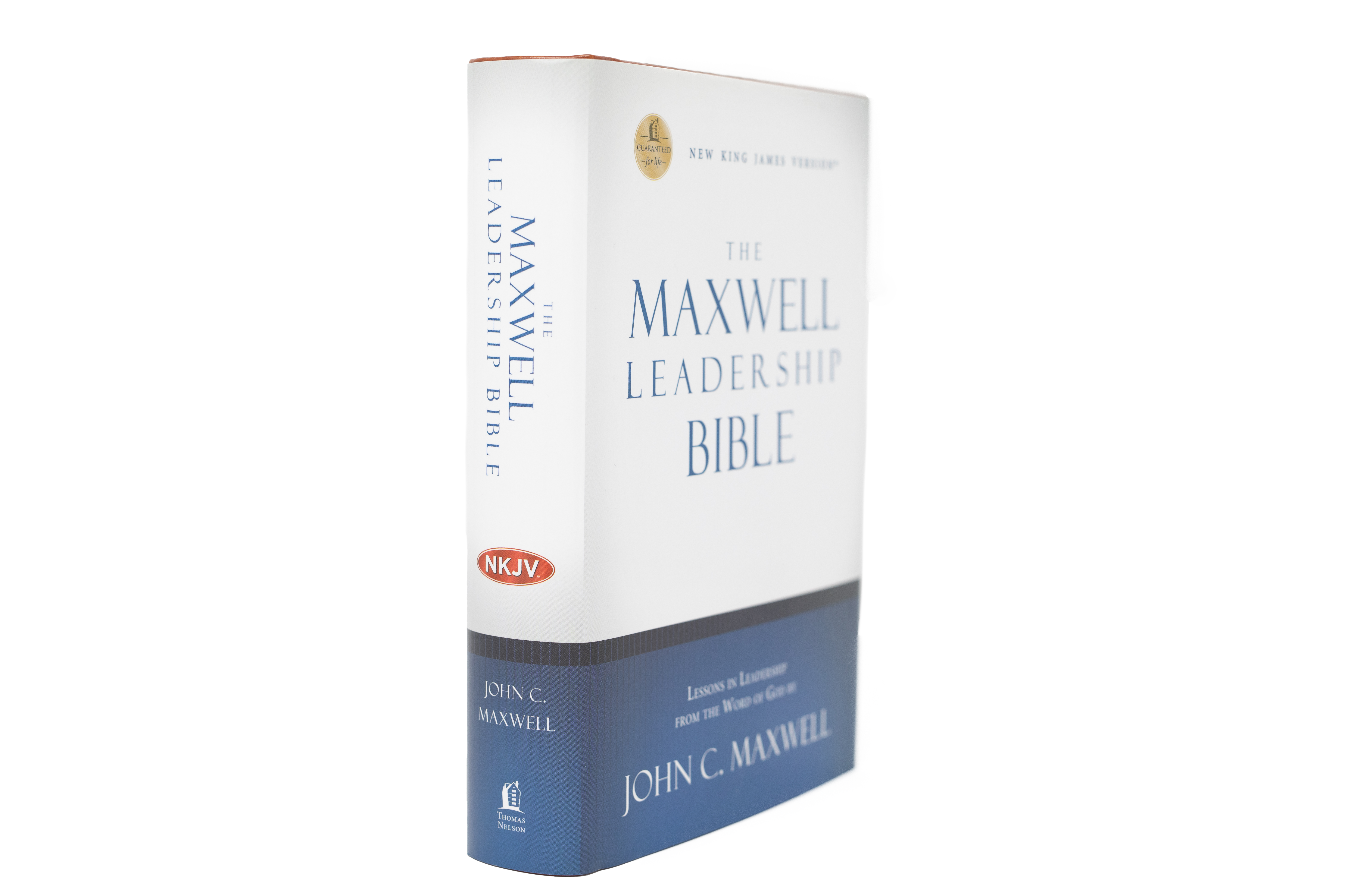 The Maxwell Leadership Bible Revised Briefcase Edition - [NKJV]