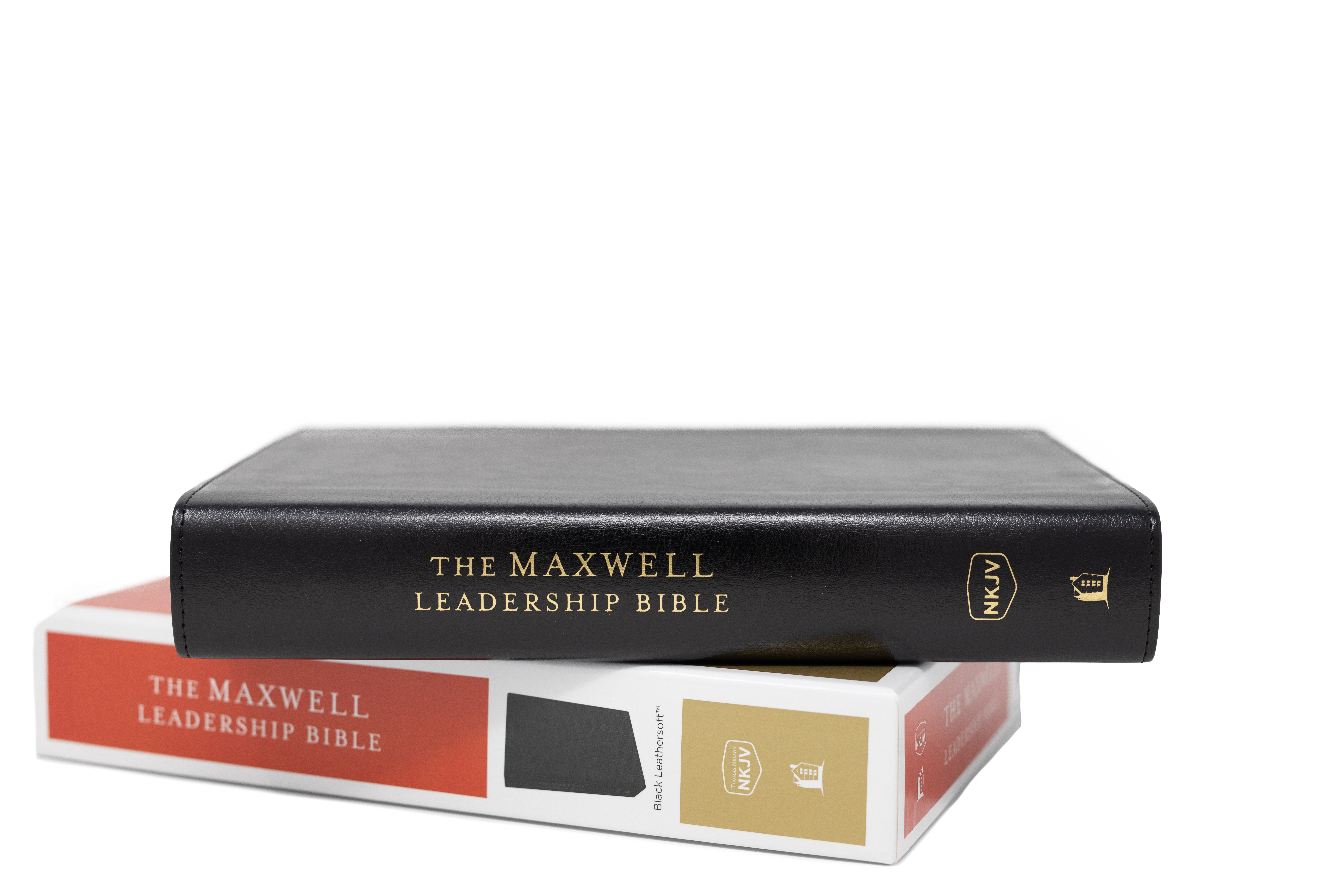 The Maxwell Leadership Bible - NKJV - Third Edition, Black Leathersoft, Comfort Print