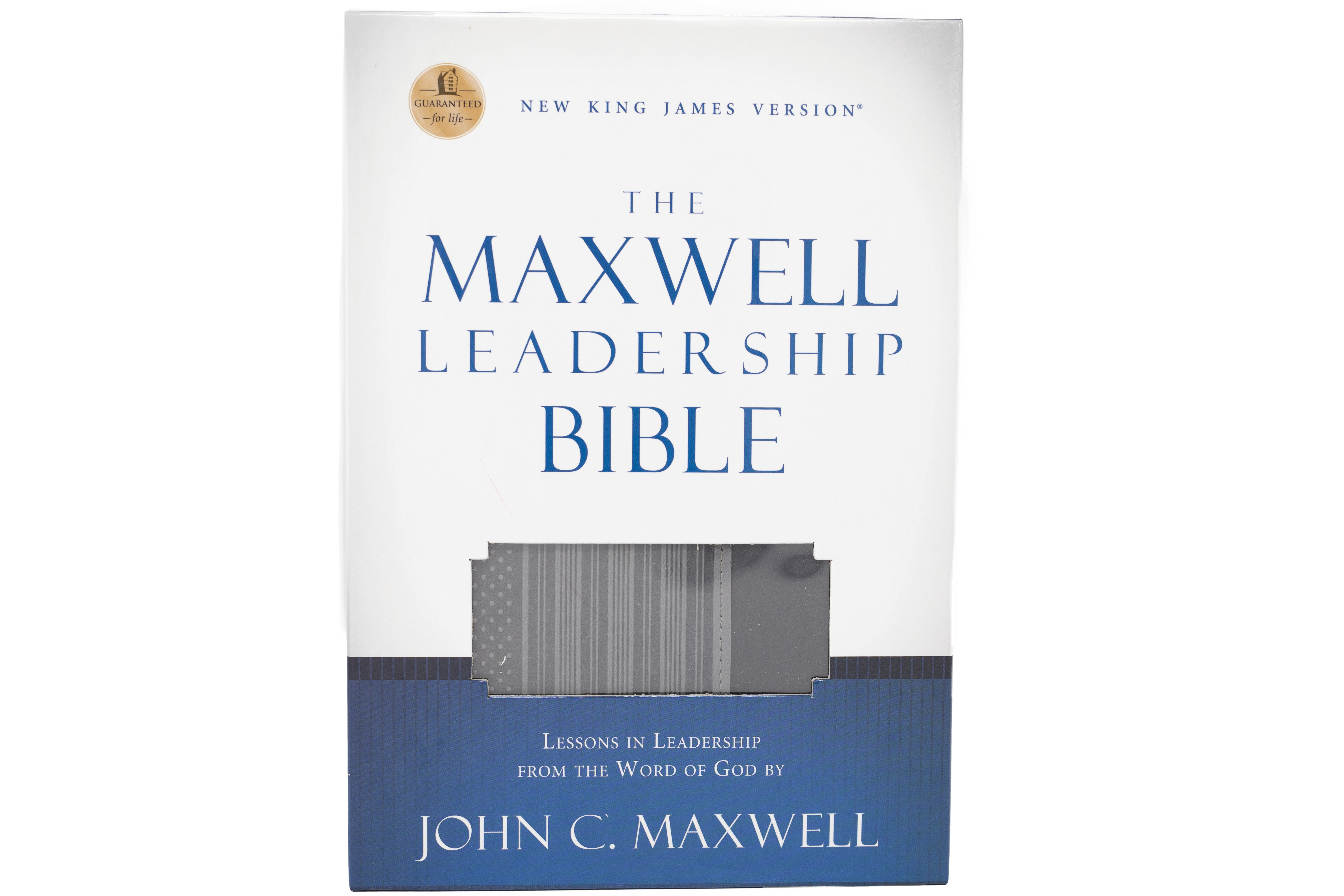 The Maxwell Leadership Bible - Leathersoft [NKJV]