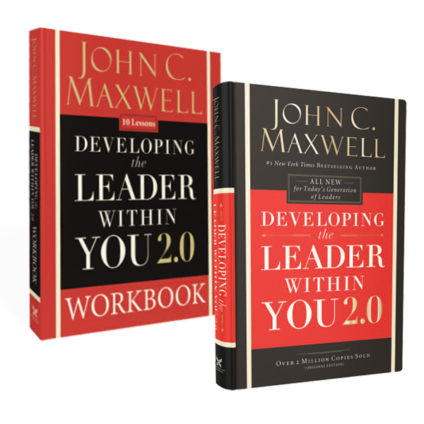 Developing the Leader Within You 2.0 Book and Workbook Bundle