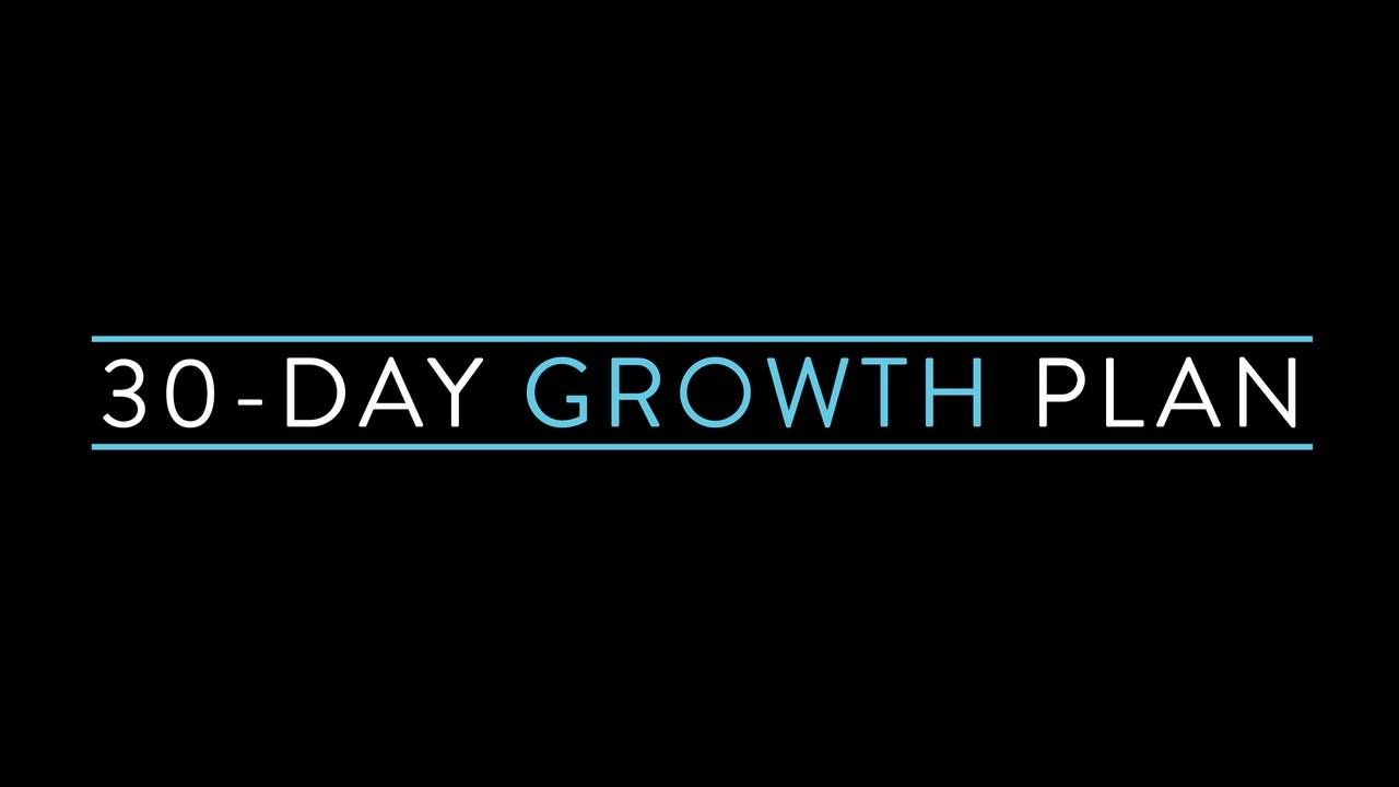 Leader Core 30-Day Growth Plan Online Mini Course with PDF