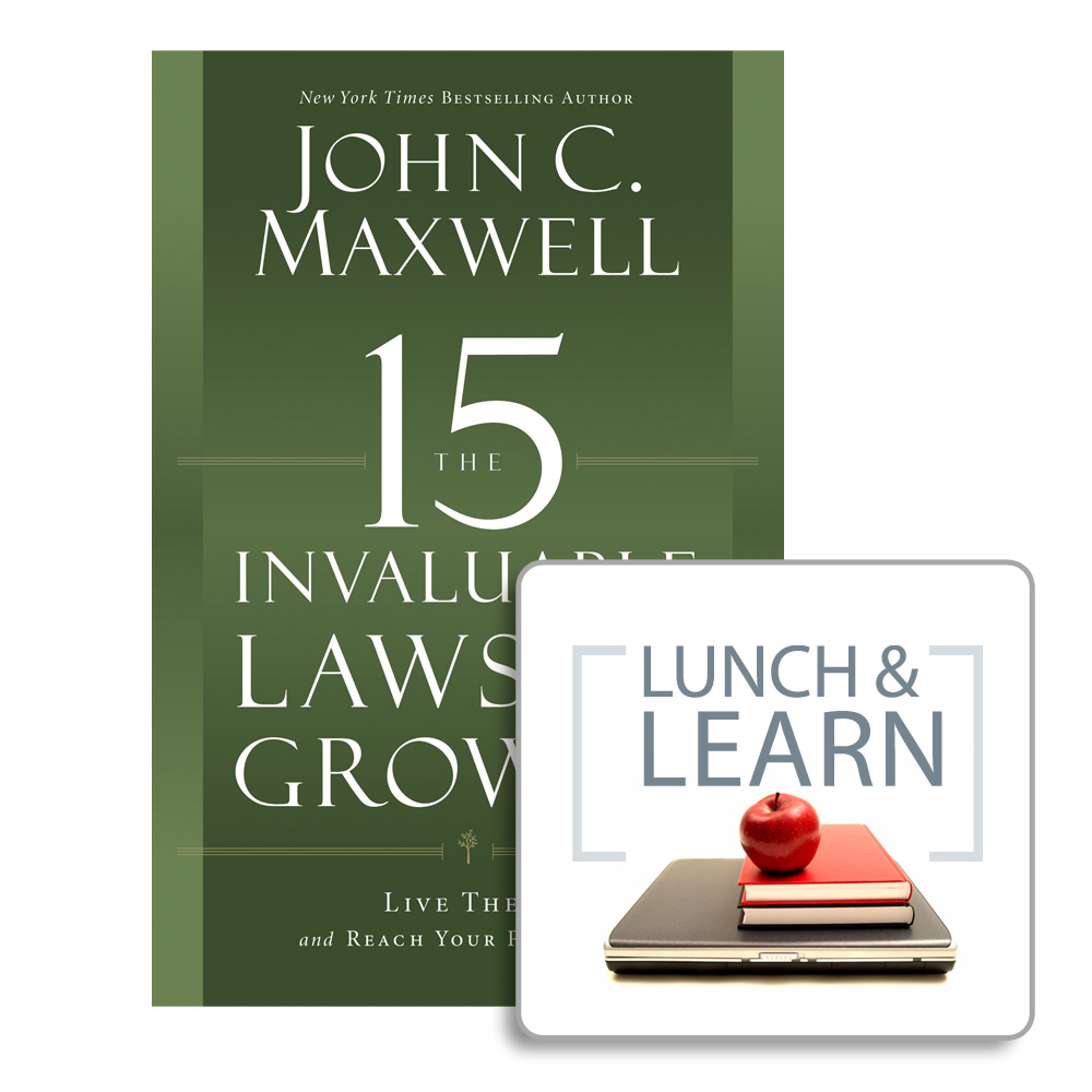 15 Invaluable Laws of Growth Book + Lunch & Learn