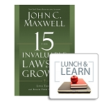 15 Invaluable Laws Book + Lunch & Learn