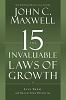 15 Invaluable Laws of Growth - Paperback