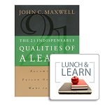 The 21 Indispensable Qualities of a Leader Lunch & Learn [Digital-PDF]