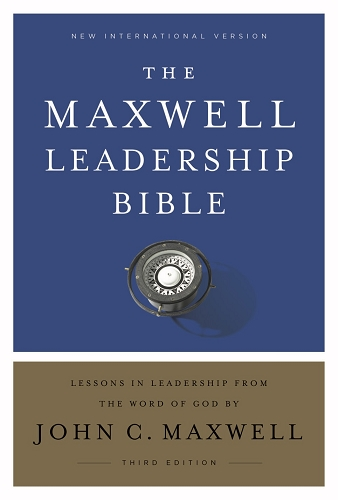 The Maxwell Leadership Bible NIV [Hardcover] - Third Edition Comfort Print