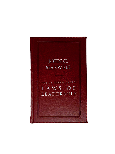 The 21 Irrefutable Laws of Leadership Special Edition Genuine Leather