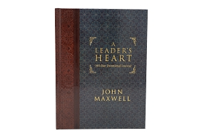 A Leader's Heart: 365-Day Devotional Journal [Hardcover]