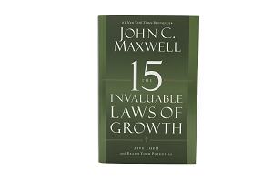 SIGNED CASE QTY ONLY (10 Books) -15 Invaluable Laws of Growth - Live Them and Reach Your Potential [Hardcover]