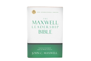 The Maxwell Leadership Bible Hardcover Briefcase Edition - [NIV]