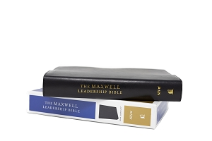 The Maxwell Leadership Bible NIV [Black Leathersoft] - Third Edition Comfort Print