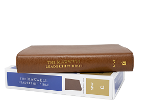 The Maxwell Leadership Bible NIV [Brown Premium Genuine Leather] - Third Edition Comfort Print