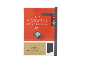 John Maxwell Leadership Bible - NKJV - Third Edition, Black Leathersoft, Comfort Print