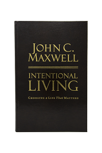 Intentional Living [Leather Edition Hardcover]
