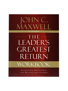 Workbook The Leaders Greatest Return