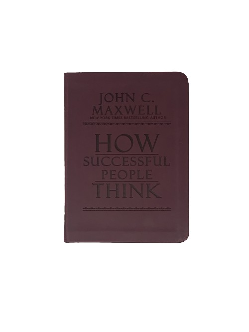 CASE: How Successful People Think [Case Qty 20]: Change Your Thinking, Change Your Life [Soft Touch Cover]