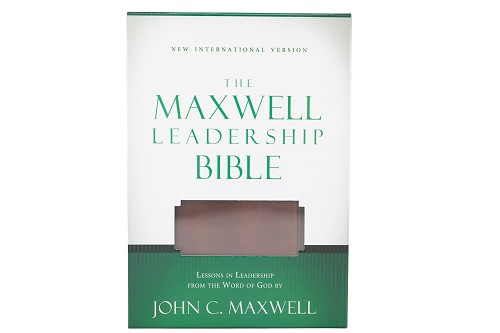 The Maxwell Leadership Bible - Leathersoft [NIV]