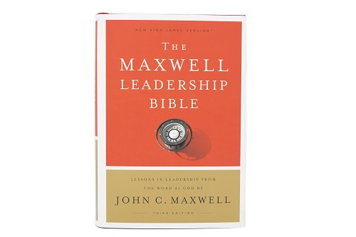 The Maxwell Leadership Bible NKJV [Hardcover] - Revised Third Edition Comfort Print