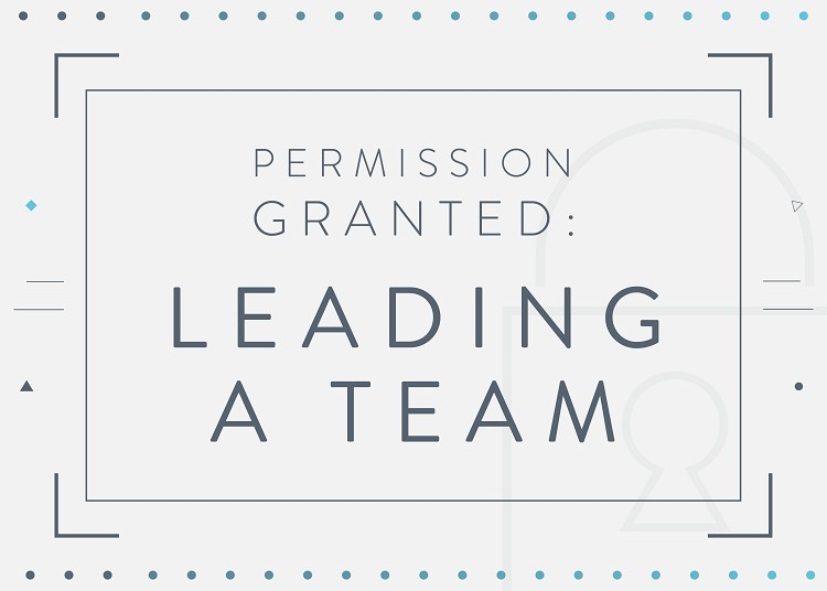 Permission Granted: Leading a Team
