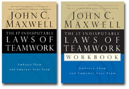 The 17 Indisputable Laws of Teamwork Book and Workbook Bundle
